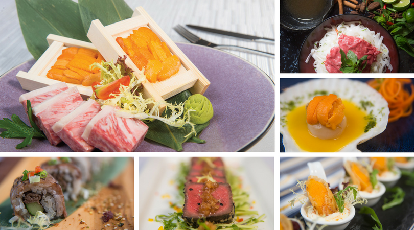 Collage of Wagyu and Sea Urchin Dinner Buffet (Signature Dish).png